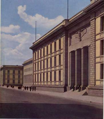 "The Reich Chancellery - Albert Speer - ""Hitler's architect"""